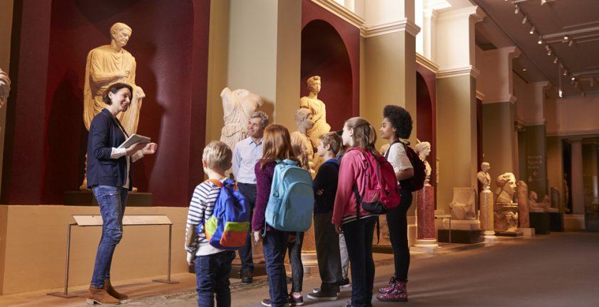 Vivir del arte: trabajar en un museo