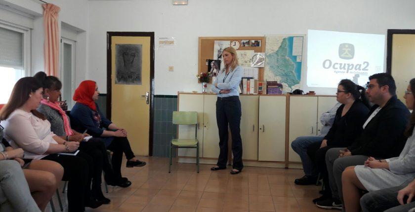 Ocupa2 en sesión de orientación laboral - Lanzadera de Empleo Málaga