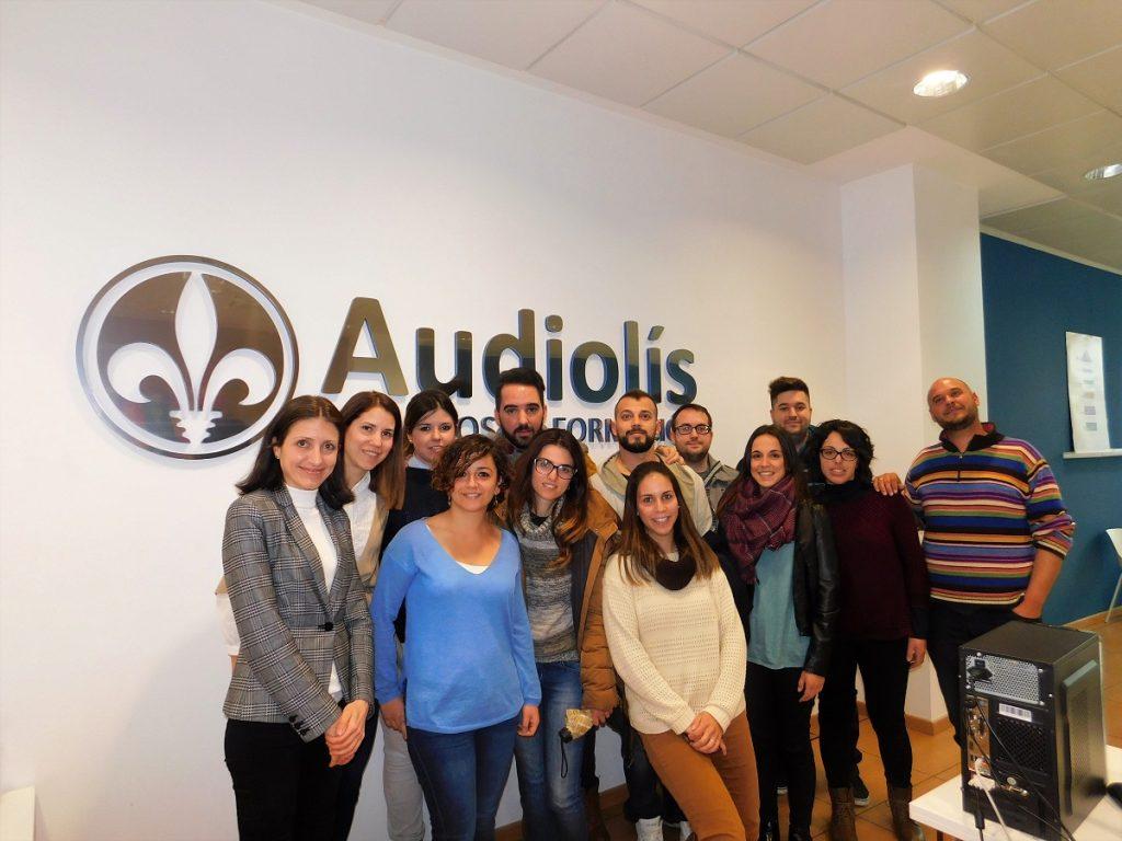 Lanzadera de Loja y Ocupa2 en instalaciones de Audiolís