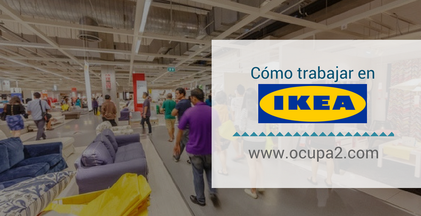 Cómo trabajar en IKEA