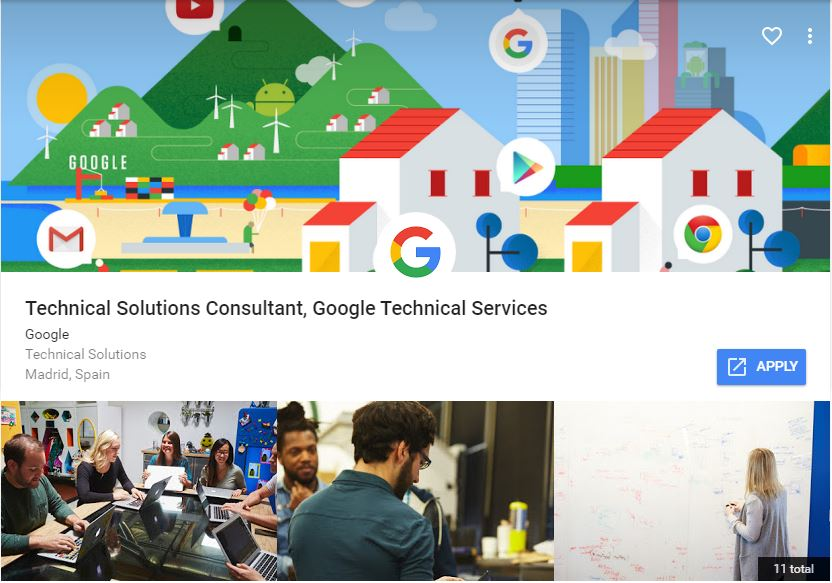 Google Career - Apply Jobs
