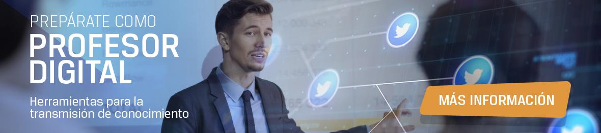Quiero ser un profesor digital. Más información