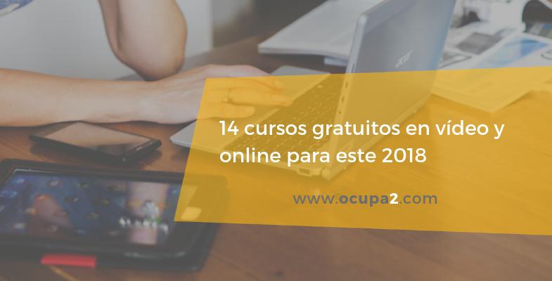 cursos gratuitos online y videocursos