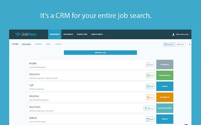 Job Hero - Extensión de Google Chrome para encontrar trabajo