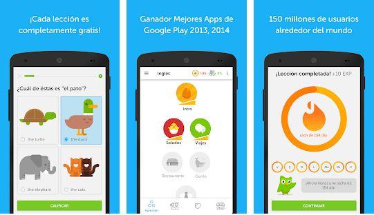 Duolingo - App para aprender Inglés