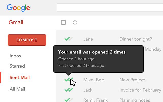 Mailtrack - Extensión Google Chrome para encontrar trabajo