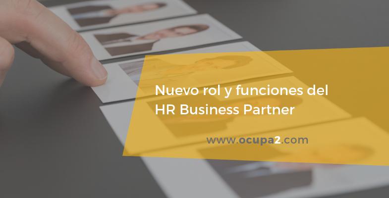 Nuevo rol y funciones del HR Business Partner