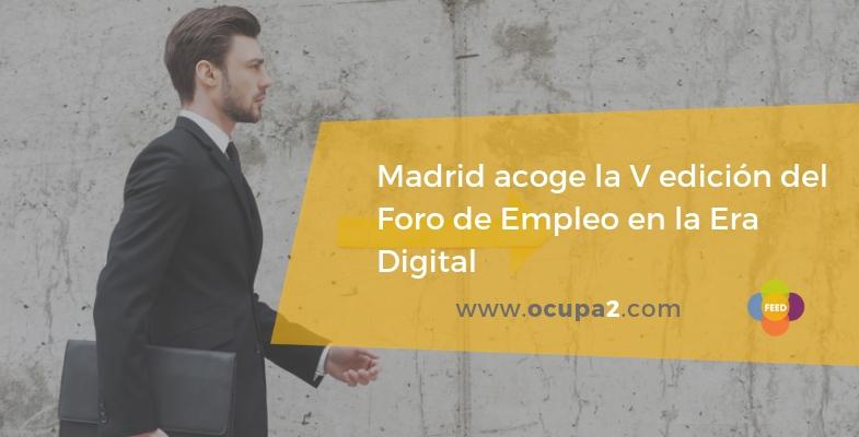 Foro de empleo en la era digital