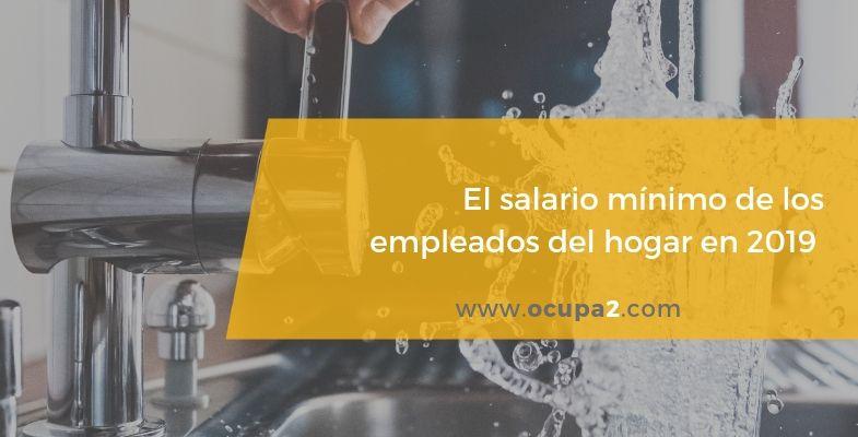 el salario mínimo interprofesional de los empleados del hogar