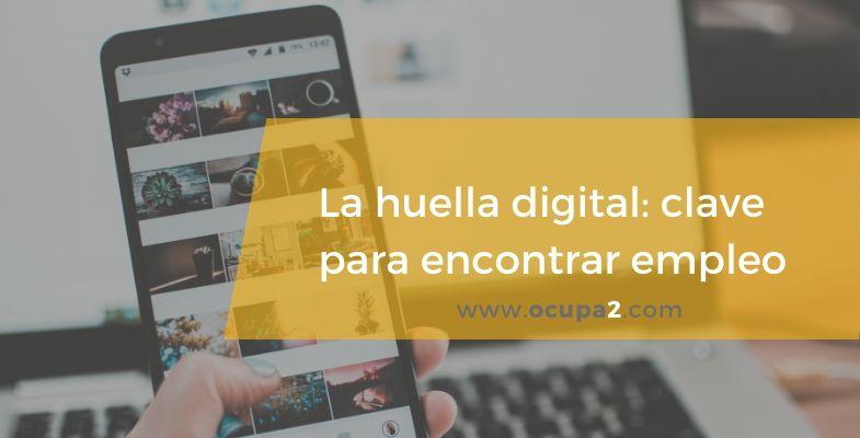 huella digital, empleo, redes sociales, perfil social